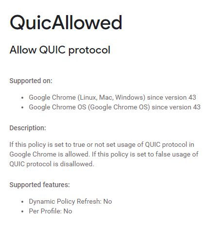 quicallowed